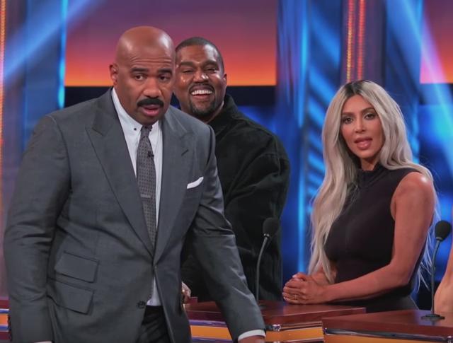 Kanye West Family Feud Kim Kardashian