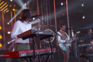 Watch Weezer Play &#8220;Africa&#8221; With the Keyboardist of Toto on <i>Kimmel</i>
