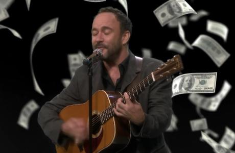 Dave Matthews Covers Migos, Lil Pump, Cardi B on Fallon