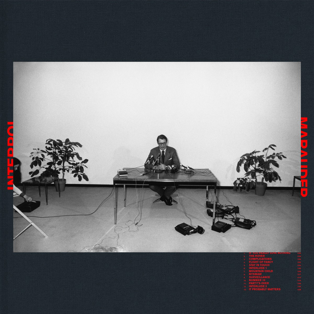 Interpol Marauder album cover