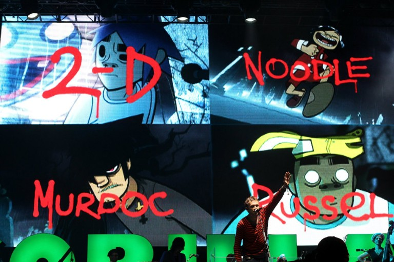 Gorillaz Demon Dayz Lineup Announced