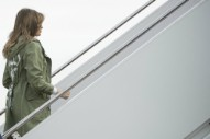 "Melania Trump Wears Jacket That Reads ""I Really Don't Care"" En Route to Visit Detained Migrant Children"