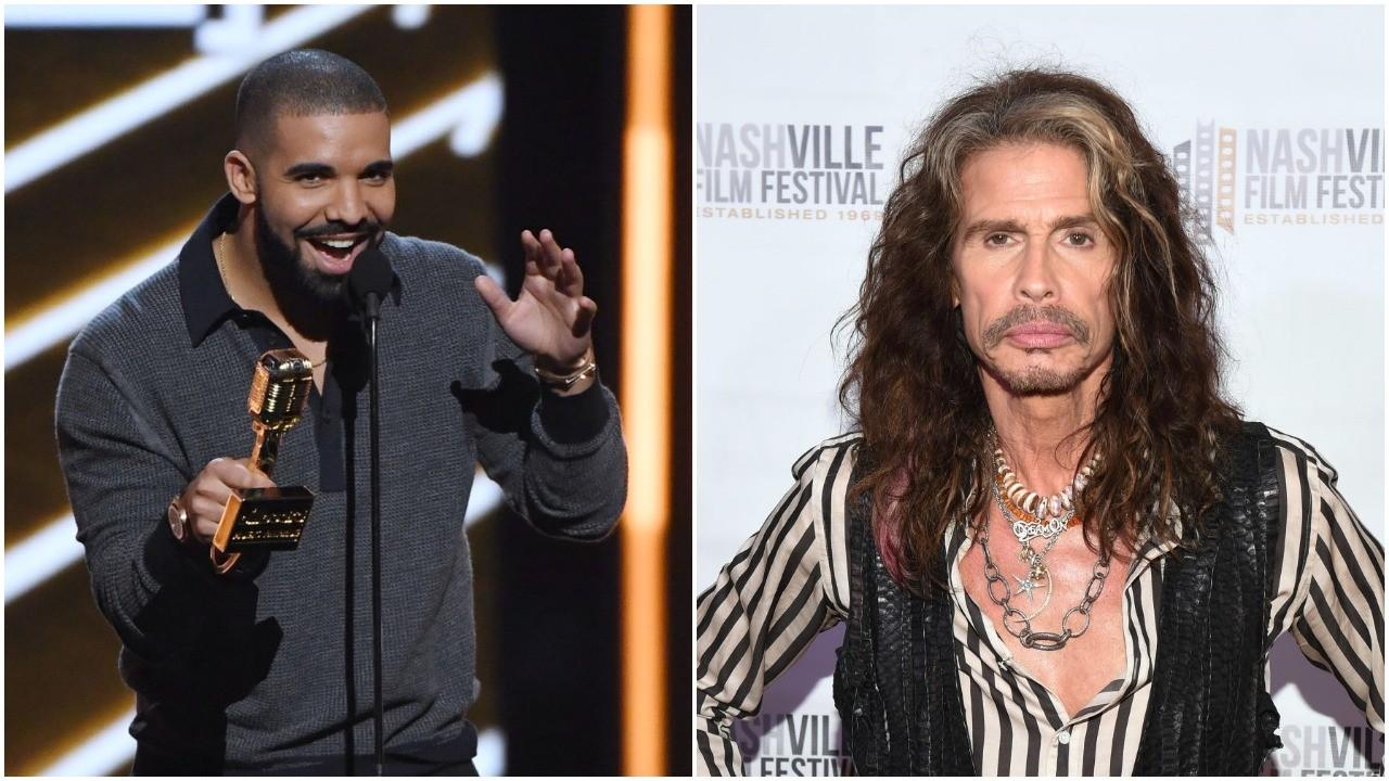 Steven Tyler Aerosmith Drake Jaded
