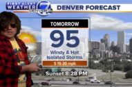 Watch Ryan Adams Deliver the Weather Report on a Denver TV Station