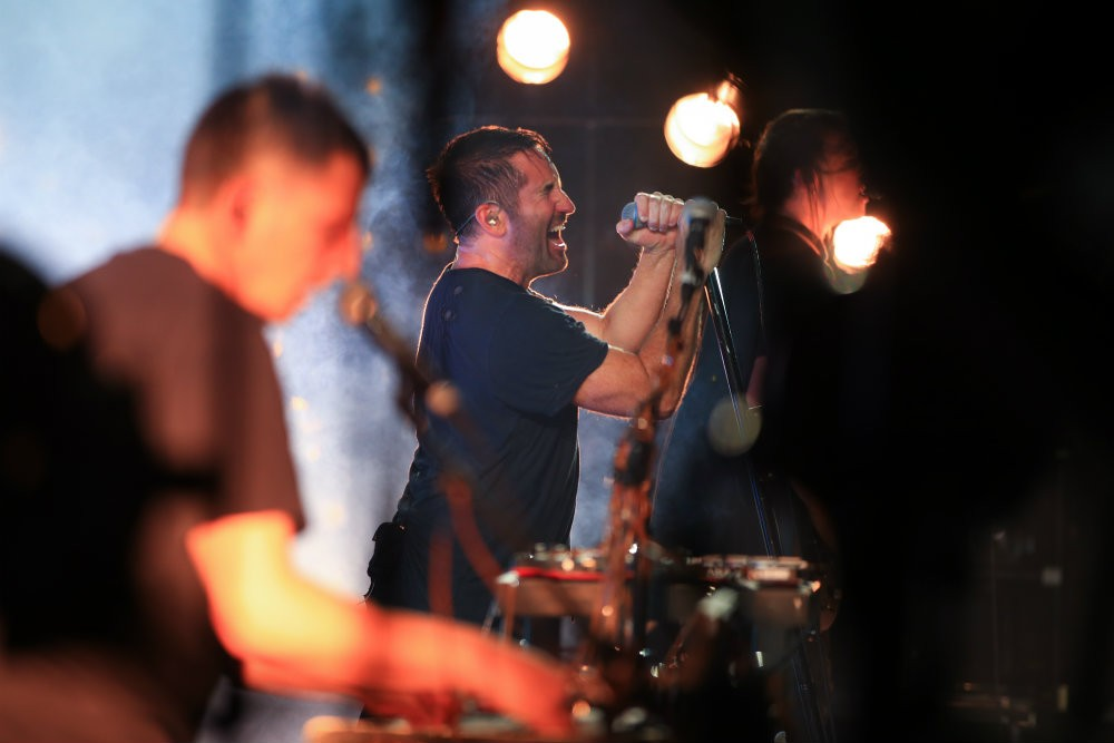 Trent Reznor Thinks Artists Should Speak Out About Trump