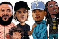 "DJ Khaled, Chance The Rapper, Justin Bieber, Quavo – ""No Brainer"""