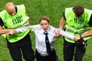 Pussy Riot Members Sentenced to 15-Day Prison Sentences for World Cup Demonstration