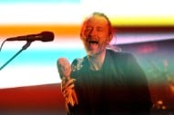 This Haunting Photo of Thom Yorke and Michael Stipe Demands Your Consideration