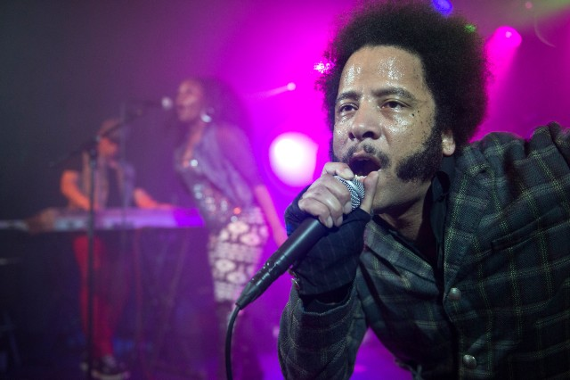 The Coup Perform At Sala Apolo In Barcelona