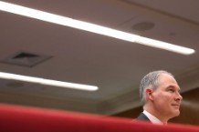 EPA Administrator Scott Pruitt Testifies Before Senate Appropriations Cmte