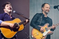 "Mumford & Sons Cover Radiohead's ""All I Need"" at Newport Folk Festival: Watch"