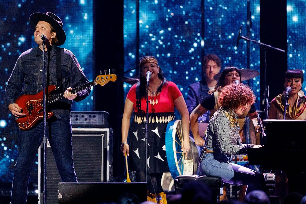 """Arcade Fire Play """"Half Light I"""" Live For The First Time"""