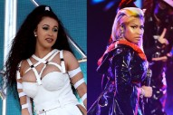 Cardi B and Nicki Minaj Are Locked in a Gossip Cold War Over a $5,000 Baby Gift
