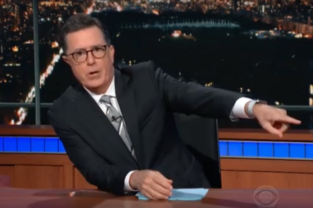 Stephen Colbert Addresses CBS Boss Les Moonves Sexual Misconduct Allegations