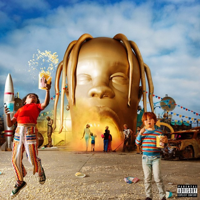 Travis Scotts Astroworld Album Cover Is Truly Ugly SPIN