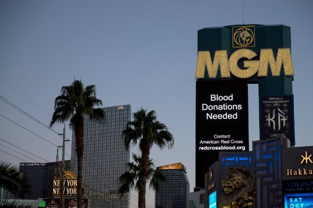 Las Vegas hotel sues victims of mass shooting