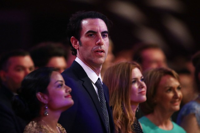 Sacha Baron Cohen dupes USA gun advocates into endorsing weapons for toddlers