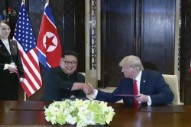 "Trump Says He Still Has ""Rocket Man"" CD for Kim Jong Un, Along With ""A Little Gift"""