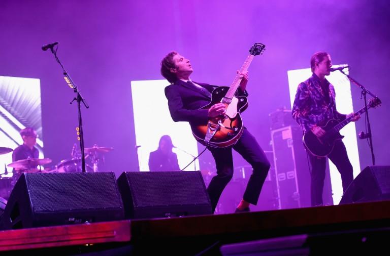 Interpol performs at Coachella