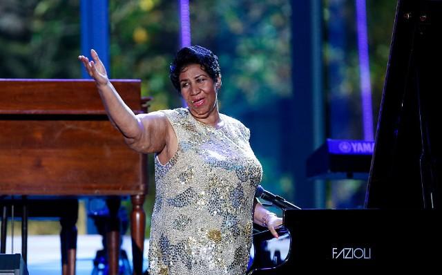 Aretha Franklin Funeral Stevie Wonder Chaka Khan Faith Hill