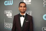Aziz Ansari Is Back But Not Ready to Joke About That #MeToo Story