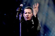Marilyn Manson Collapses Onstage at Houston Show