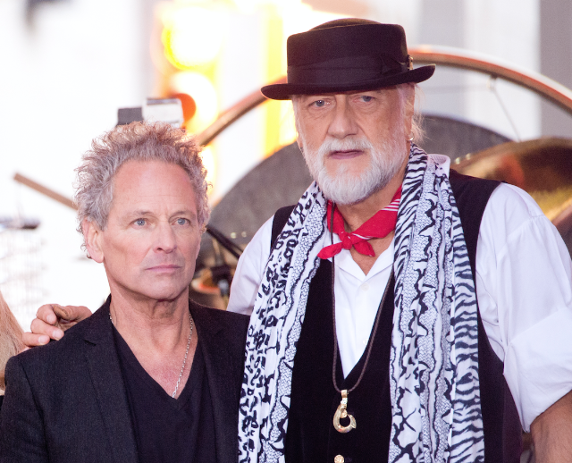 Mick Fleetwood Lindsey Buckingham