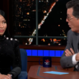 "Nicki Minaj Talks ""Barbie Dreams"" Controversy, Writes New Verse About Sex With Colbert on Late Show"