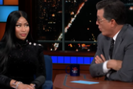 Nicki Minaj Talks &#8220;Barbie Dreams&#8221; Controversy, Writes New Verse About Sex With Colbert on <i>Late Show</i>