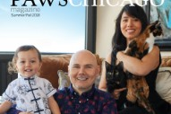 Billy Corgan Makes Triumphant Return to Cover of Chicago Cat Rescue Magazine