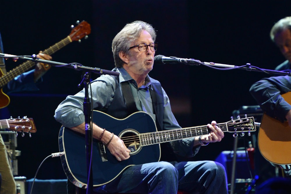 "Eric Clapton to Release ""Jingle Bells"" Tribute to Avicii"