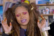Watch Erykah Badu's Stirring Tiny Desk Concert