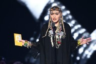 Madonna Gives Aretha Franklin a Baffling Tribute at the 2018 VMAs