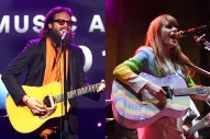 "Watch Father John Misty and Jenny Lewis Sing ""God's Favorite Customer"""