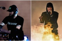 Eminem Bon Iver Justin Vernon Fall Kamikaze Listen