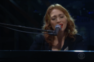 "Regina Spektor Performing ""Samson"" on <i>Colbert</i> Is a Nice Thing"