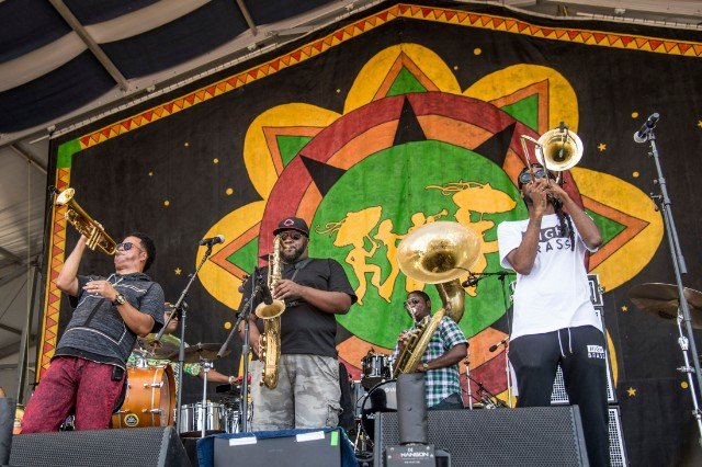 2017 Jazz and Heritage Festival - Weekend 2 - Day 3, New Orleans, USA - 6 May 2017