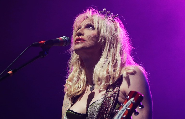 Courtney Love Performs Live In Sydney