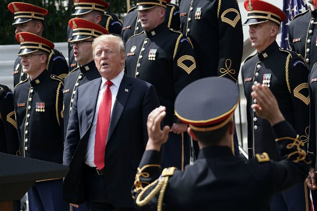 Trump Spent a Meeting With Vietnam Vets Arguing About Napalm and Apocalypse Now: Report
