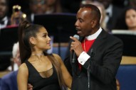 Bishop Apologizes for Groping Ariana Grande and Making Fun of Her Name at Aretha Franklin's Funeral