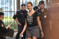 Two Pussy Riot Members Detained By Police in Moscow