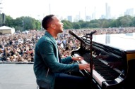 John Legend Calls Out Senators' Treatment of Sexual-Abuse Accusers at Global Citizen Festival