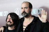 "Krist Novoselic and Dave Grohl Briefly Reunite to Cover ""Molly's Lips"" at Seattle Show"