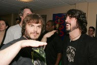 "Jack Black on Dave Grohl: ""He Crushes It With Thunderskins"""