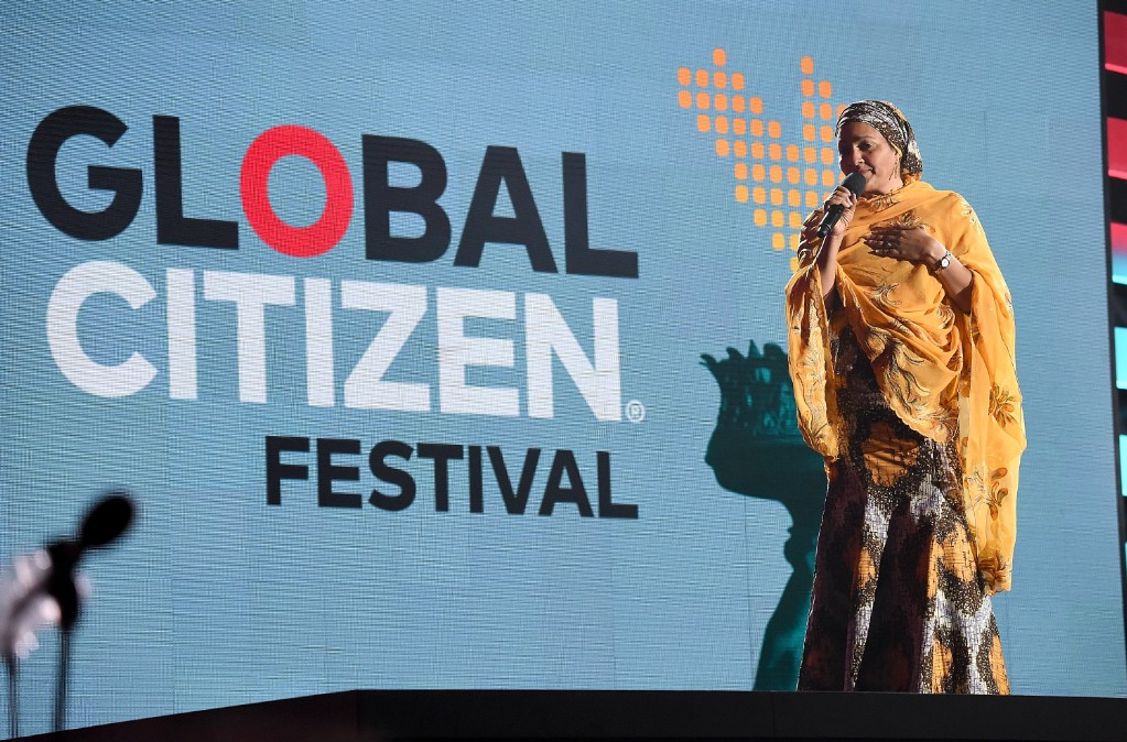 Global Citizen Festival Barrier Collapses Causing Panic