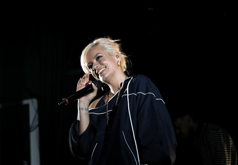 Lily Allen Performs At The El Rey Theatre