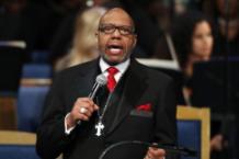 Aretha Franklin Funeral Jasper Williams Jr.