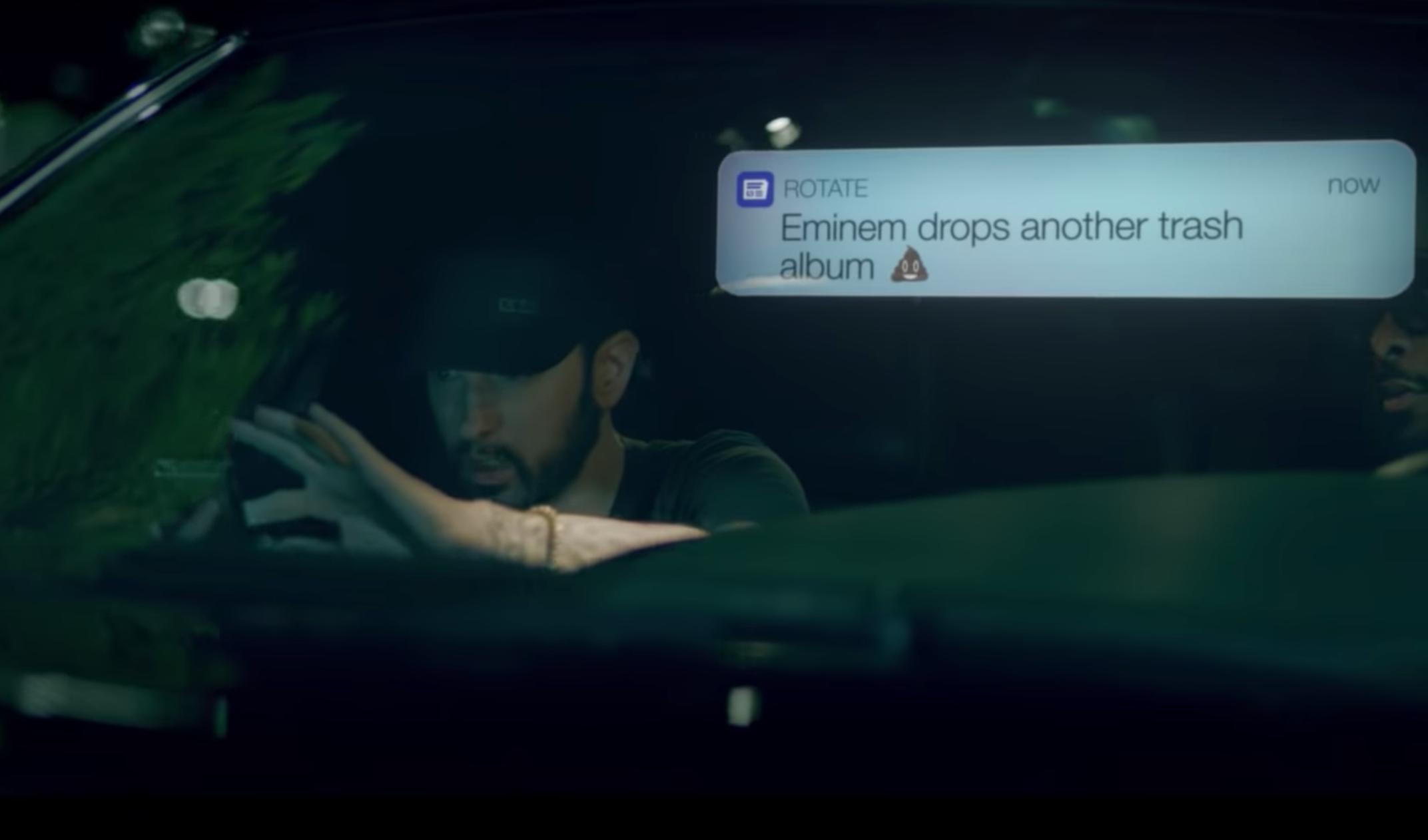 Eminem Fall Video Bon Iver Justin Vernon Watch