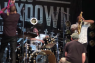 "Watch Dave Grohl Perform Nirvana's ""In Bloom"" With Trombone Shorty"