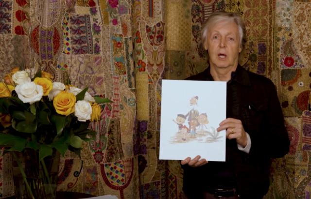 Paul McCartney Hey Grandude Children's Book